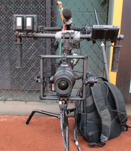 The MōVI camera system makes its MLB debut Tuesday night at the All-Star Game.
