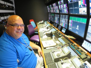 Tom GInocchi, NBC Sports lead replay operator, will be working with the new 12-channel EVS XT[3] unit.