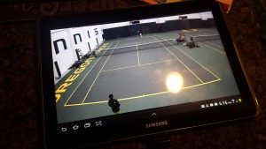 Users can view any of the six court streams via laptop, tablet, or mobile.