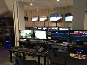 Harvard's revamped centralized control room is now capable up hosting productions on multiple events.