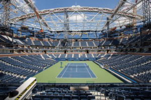 Changes are coming to the US Open: Arthur Ashe Stadium is getting a roof, and ESPN is taking over this year as sole U.S. broadcaster and as host broadcaster for the event.