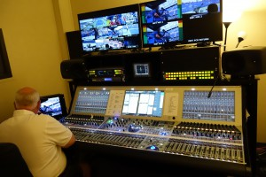 Lawo audio consoles play a key role in ESPN's U.S. Open audio operations.