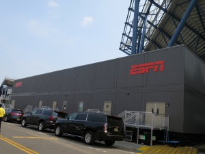 ESPN's sprawling two-story broadcast center