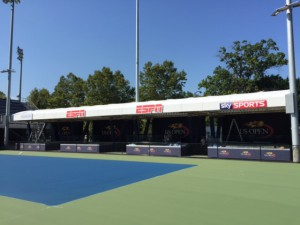 A new set at the practice courts has been a highlight for domestic and international partners.