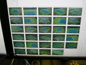 The images from the 28 freeD cameras at Arthur Ashe Stadium