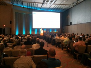 The 2015 SMPTE Annual Technical Conference and Exhibition in Hollywood this week drew a record crowd and set an all-time high for exhibits.