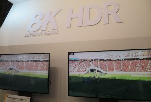 NHK's 8K HDR demo at CEATEC provided a glimpse into what viewers can expect in their homes come 2018.