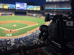 NHK produced a Yankees-Mariners three-game series in 8K at Yankee Stadium in July.