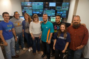 A crew of BTN NOW graduates produced a women's soccer match that aired live on Big Ten Network on Oct. 25.