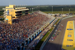 Homestead-Miami Speedway is home to the NASCAR Sprint Cup Finale on Sunday.
