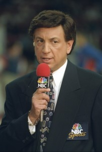 Albert was the voice of the NBA on NBC Sports during the league's heyday in the late 1980s and 1990s.