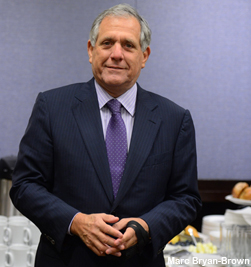CBS President/CEO Les Moonves at the NeuLion SMT Conference. Photo courtesy of SBJ