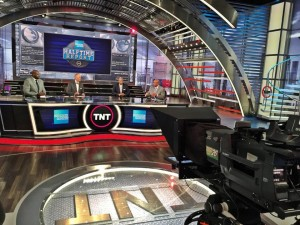 Turner's new NBA set debuted on Oct. 30.